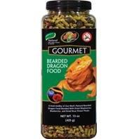 Zoo Med Gourmet dragón Barbudo alimentos naturales con añadido Vitaminas y Minerales 15oz