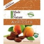 Made In Nature Organic Dried Apricot, 6 Ounce -- 12 per case.