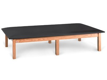 Hausmann Mat Platform Physical Therapy Treatment Table - 5' X 7' 7' Mat Platform