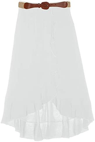 Amy Byer Girls Ruffle Front product image