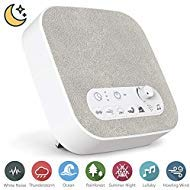 White Noise Machine for Sleeping, Aurola Sleep Sound Machine with Non-Looping Soothing Sounds for Baby Adult Traveler, Portable for Home Office Travel   by Aurola