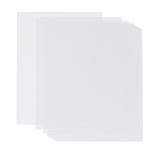 Insert White Laser - 100 Sheets Pack Vellum Paper Value Pack - White Translucent Sketching and Tracing Paper - 8.5 x 11 Inches - Traditional Comic Drawing Animation Paper - 100 Pieces