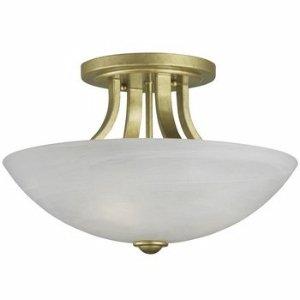 Designs Lighting Flush Dolan Satin Mount - Dolan Designs 204-09 3Lt Satin Nickel Fireside 3 Light Semi Flushmount