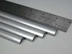 K&S Precision Metals 1103 Streamline Aluminum Tubing, 1/2'' OD x 35'' Length, Made in USA