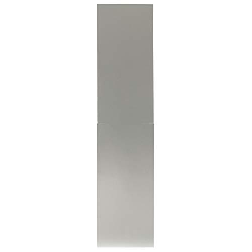 Coyote 10 to 12 Foot Ceiling Duct Cover for Coyote Outdoor Vent Hood - C1FLUE12 12' Stainless Steel Duct Cover