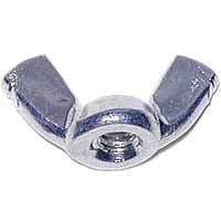 Midwest Products 03804 Zinc Wing Nut Cold Forged 1/4
