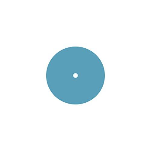 (Dedeco 0145 Rubberized Abrasive Wheel, Silicon Carbide, Extra Fine, 3