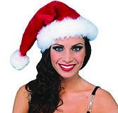 - Rubie's Costume Co Sparkle Santa Hat Costume