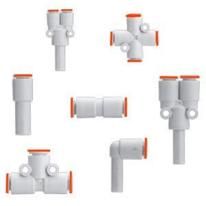 SMC KM15-08-10-3-X2 fitting, manifold Pack of 5