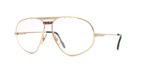 Ferrari 12 524 Gold Authentic Men Vintage Eyeglasses - Glasses Frames Ferrari