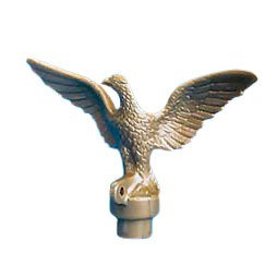 Eder Flag Eagle Top Ornament Plastic Gilt Gold For, used for sale  Delivered anywhere in USA