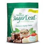 Sweet Leaf Sweetener Sweeteners SugarLeaf, 100% natural mix of Sweet Leaf Stevia & Cane Sugar 1 lb. (a) - 2pc