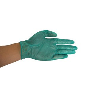 Fibre Glast - Vinyl Gloves - Extra Large - 4 Boxes of 100 - Heavy Duty Protection, Even Against Solvents