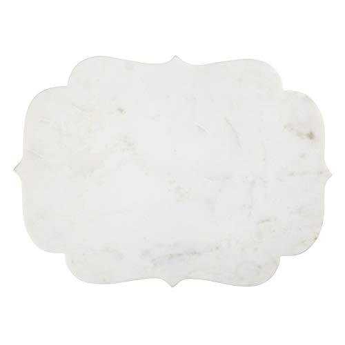 (SB Design Studio D1824 Table Sugar Cheese Board 15 x 11-Inches White)