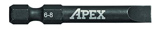 (APEX AMB2SL6-25 Ind. 2 Slotted Power Drive Sl6-8 25PK)