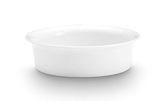 Pillivuyt, Sancerre French Porcelain Individual Gratin Dish, 5.5 Inches, 1.5 Cup, Microwaveable, Oven to - Dish Gratin Pillivuyt