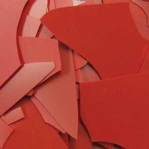 Fuseworks 2-Ounce Confetti 90 COE Fusible Glass, Red Diamond Tech International FW842