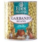 Eden Foods Low Fat Organic Garbanzo Beans -- 15 oz