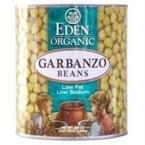 Eden Foods Low Fat Organic Garbanzo Beans -- 15 oz