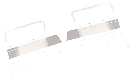 (Peterbilt 379 Blank Headlight Mount Fender Guard (1987+) )