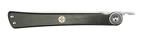 Shun DM5900 Higo Nokami Personal Folding Stainless Steel Steak Knife, Silver by Shun (Image #1)