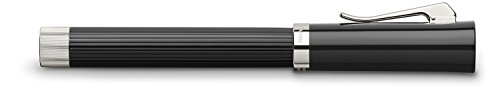 GRAF von Faber-Castell Intuition Fluted Rollerball Pen - Black by Faber-Castell (Image #1)