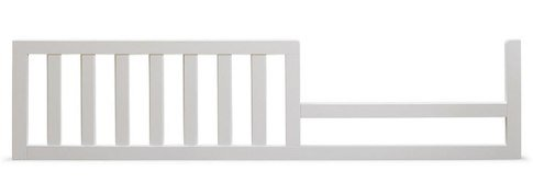 French Crib (Sorelle Verona Crib and Changer Toddler Rail - French White)