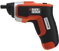Black+Decker KC460LN-QW Atornillador sin Cable, 3,6 V, 590 W, 3.6 V, Negro, Gris, Naranja