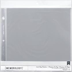 "Bulk Buy: American Crafts Page Protectors Top Loading 12""X12"