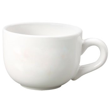 MainWare 4 Piece Set 16 oz Café Latte Cups White