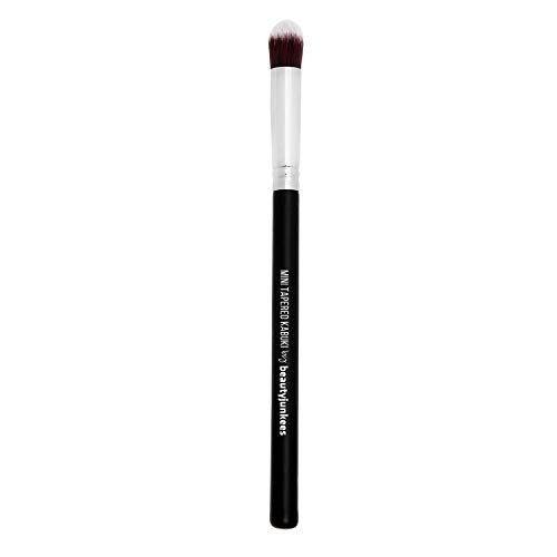 (Tapered Blending Eyeshadow Makeup Brush - Small Mini Tapered Synthetic Eye Shadow Kabuki Brush Best for Pigments Glitter, Under Eye Concealing, Vegan Brochas Para Ojos)