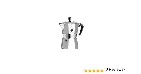 Bialetti Moka Express, 6 cup, Aluminio - Cafetera italiana: Amazon.es: Hogar