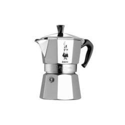 Bialetti Moka Express, 6 cup, Aluminio - Cafetera italiana