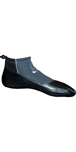 Atan Sunfast 3MM GBS Wetsuit Shoes Black - Unisex - Manufactured in France Since 1983, in Their own Workshop - 3mm GBS Shoes
