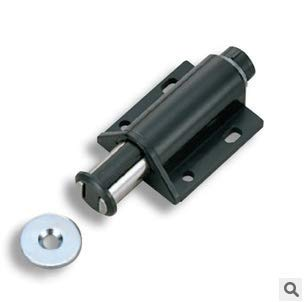 TK-713B-K Furniture and Kitchen Fittings Black Single Magnetic Touch Push Latch