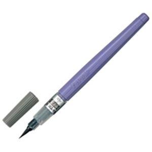(業務用100セット) ぺんてる 筆ペン XFL3L うす墨 中字 B07GTMX5JM