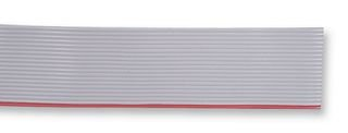 Amphenol Spectra Strip 191-2801-150 cable, flat(planar), gray pvc insul w/1 red edge, 50 conductors, 28 awg stranded