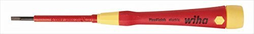 Wiha Tools 32004 Insulated Pico Finish Precision Slotted Screwdriver - 3.5 x 60 mm.