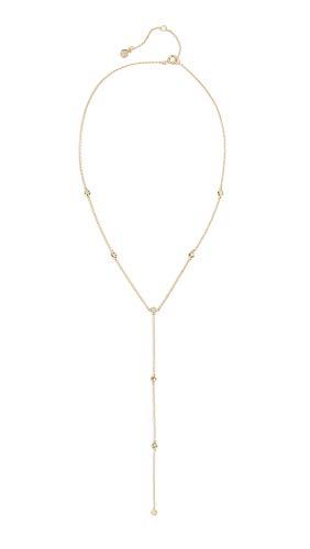 gorjana Women's Chloe Short Lariat Necklace, Gold, One Size