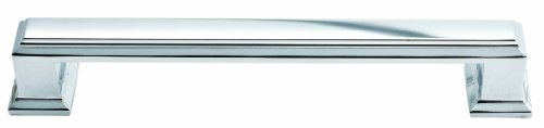 (Atlas Homewares 292-CH Sutton Place Collection 5.87-Inch Large Pull, Polished Chrome)