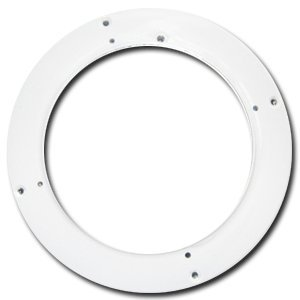 New Ritchie Navigation Parts & Accessories H-awht White 4-1/2''-5'' hole adapter Fits HF742 HF743 by Boating Accessories