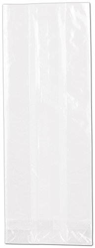 NatureFlex TM Biodegradable Clear Cello Bags (1000 Bags) - BOWS-69-08D by Miller Supply Inc