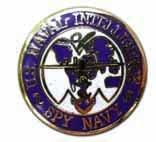 Amazon.com: United States Naval Intelligence Spy Navy Lapel Pin