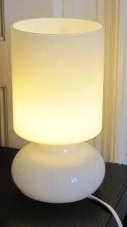 Ikea Lykta Table Lamp White Eu Version With Adaptor