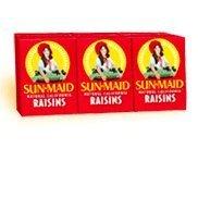 Sun Maid California Raisins 6 Pack - Pack of 3 (18-7/8 Oz Boxes)