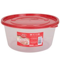 Betty Crocker Easy Seal Round Storage Containers, 72 oz.