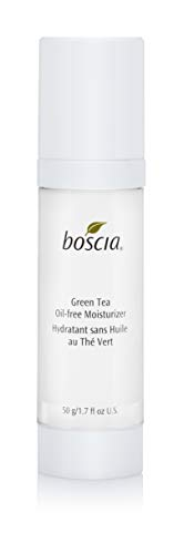 boscia Green Tea Oil-Free Moisturizer - Daily Oil Free Face Moisturizer with Japanese Green Tea, 1.7 Fl Oz