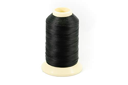 Thread, Polyester, Coats Bonded Polyester Thread-4 oz. Spools, Black - Size DB-92 T-90