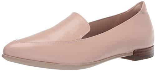 (ECCO Women's Women's Shape Pointy Ballerina Ii Ballet Flat, Rose dust Calf, 38 M EU (7-7.5 US))