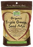 Now Foods Organic Seed Triple Omega Mix, 12 once